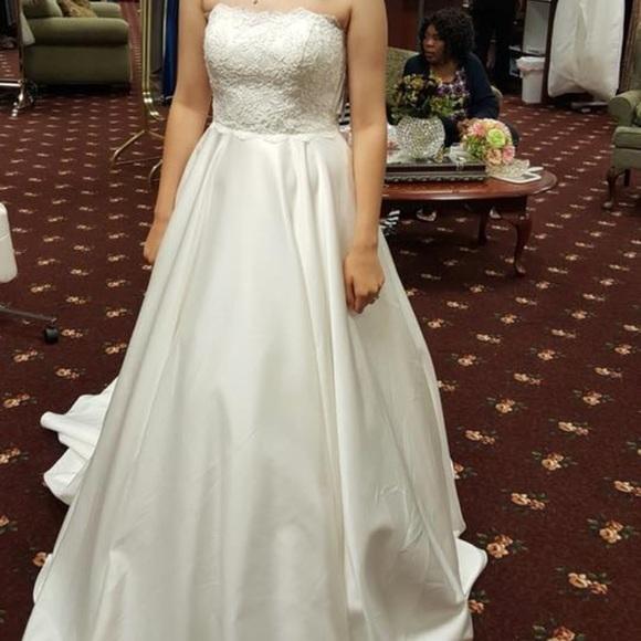 Dresses Juliana Marie Wedding Dress And Under Slip Poshmark